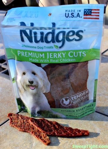 Safe Chicken Jerky for Dogs from Nudges