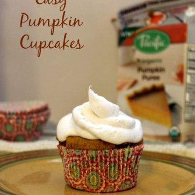 Easy Pumpkin Cupcakes made Carton Smart