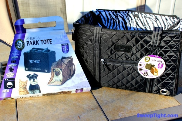 Sherpa Park Tote for Pets On The Go