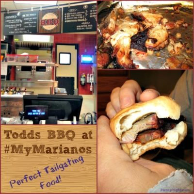 Todds BBQ at Mariano's for Delicious Tailgating Food