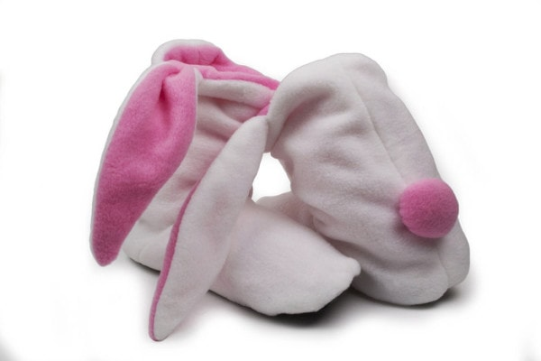 Cure Cold Feet with Adorable Bunny Slippers