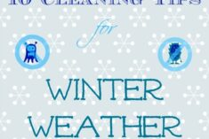 10 winter cleaning tips