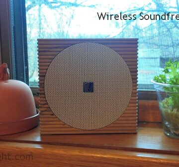 Stylish Bluetooth Wireless Speaker for Home or Office