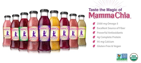 Chia Seed Drink by Mamma Chia