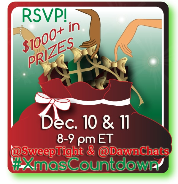 Join Us for the #XmasCountdown Twitter Party