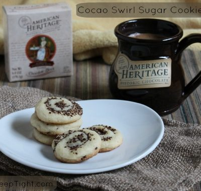 American Heritage Chocolate Cocoa Swirl Sugar Cookies
