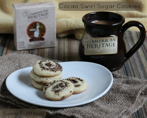 Cocoa or Cocao Swirl Sugar Cookie Recipe #Sponsored #MC