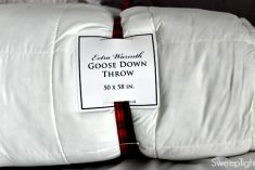 DownLinens Down Filled Throw