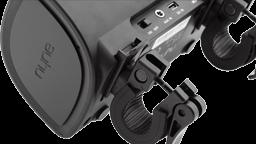 Portable speaker handlebar mount