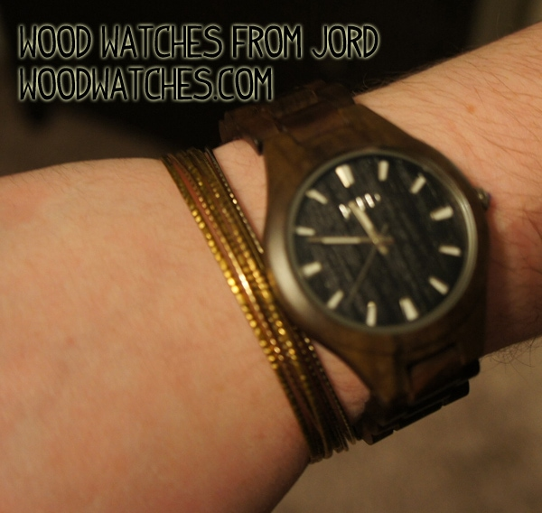 Wood Watch from Jord