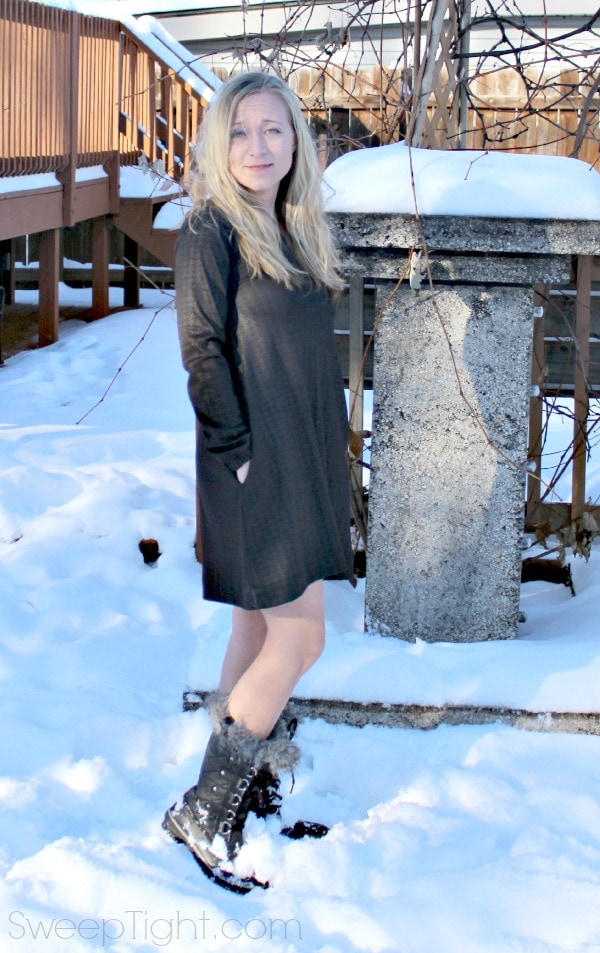 Karina Dress Great for Winter