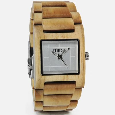 Wood Watches from Mica