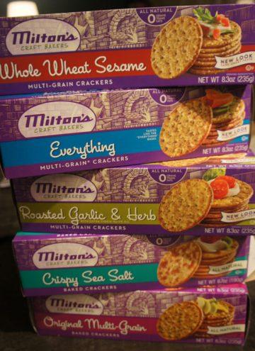 Milton's Gourmet Crackers