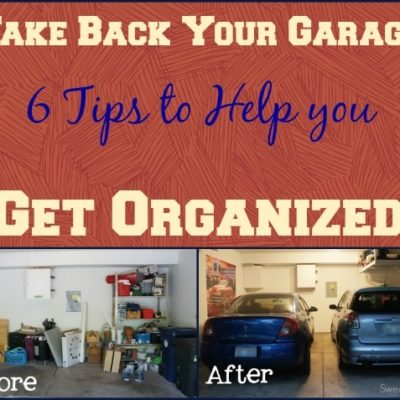 6 Ways to Help Organize Your Garage