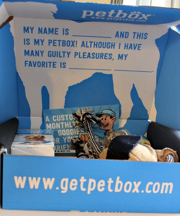 PetBox Subscription Boxes for Happy Dogs
