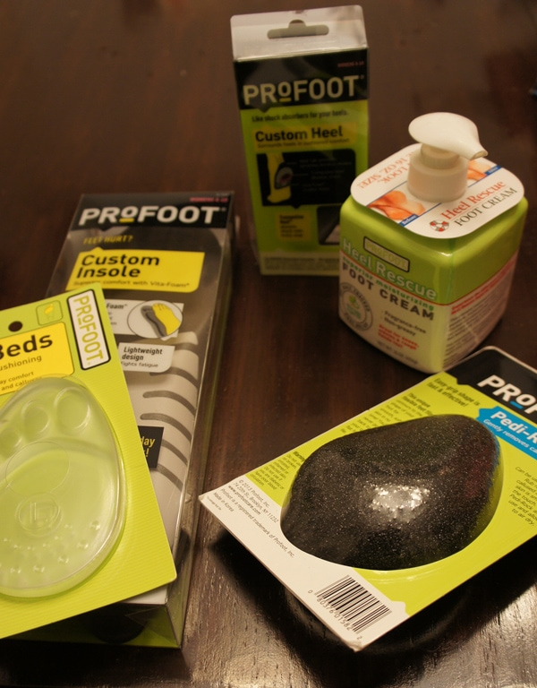 Custom Insole Orthotics from PROFOOT