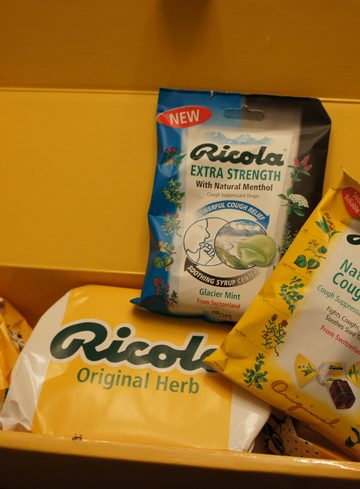 Cold Relief with Ricola