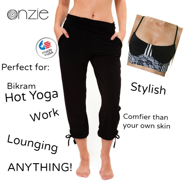 The Onzie Hot Yoga Apparel