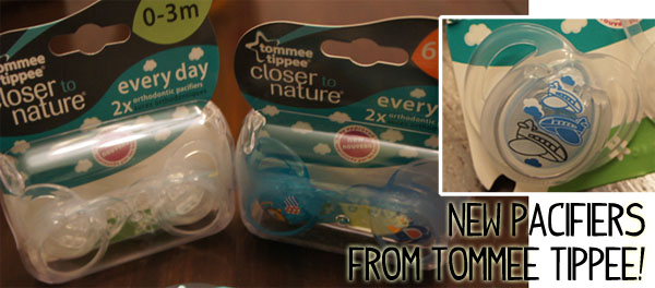 Baby Approved Pacifiers from Tommee Tippee