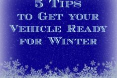 5 Tips to Get your Vehicle Ready for Winter