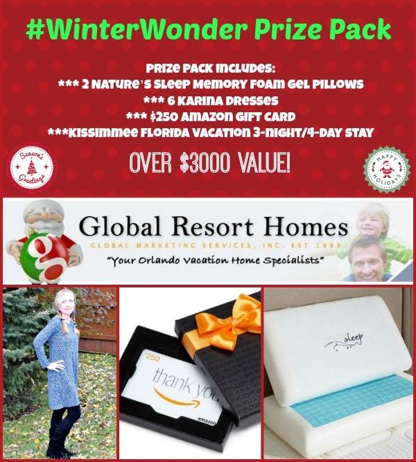 #WinterWonder Prize Pack