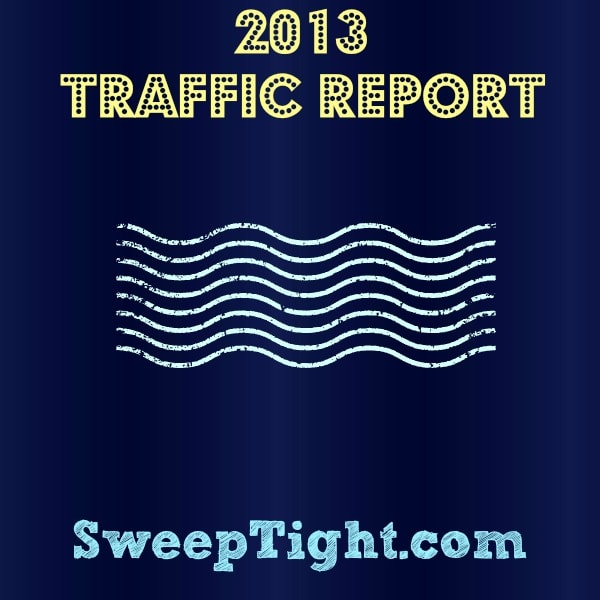 Yearly Traffic Report for 2013