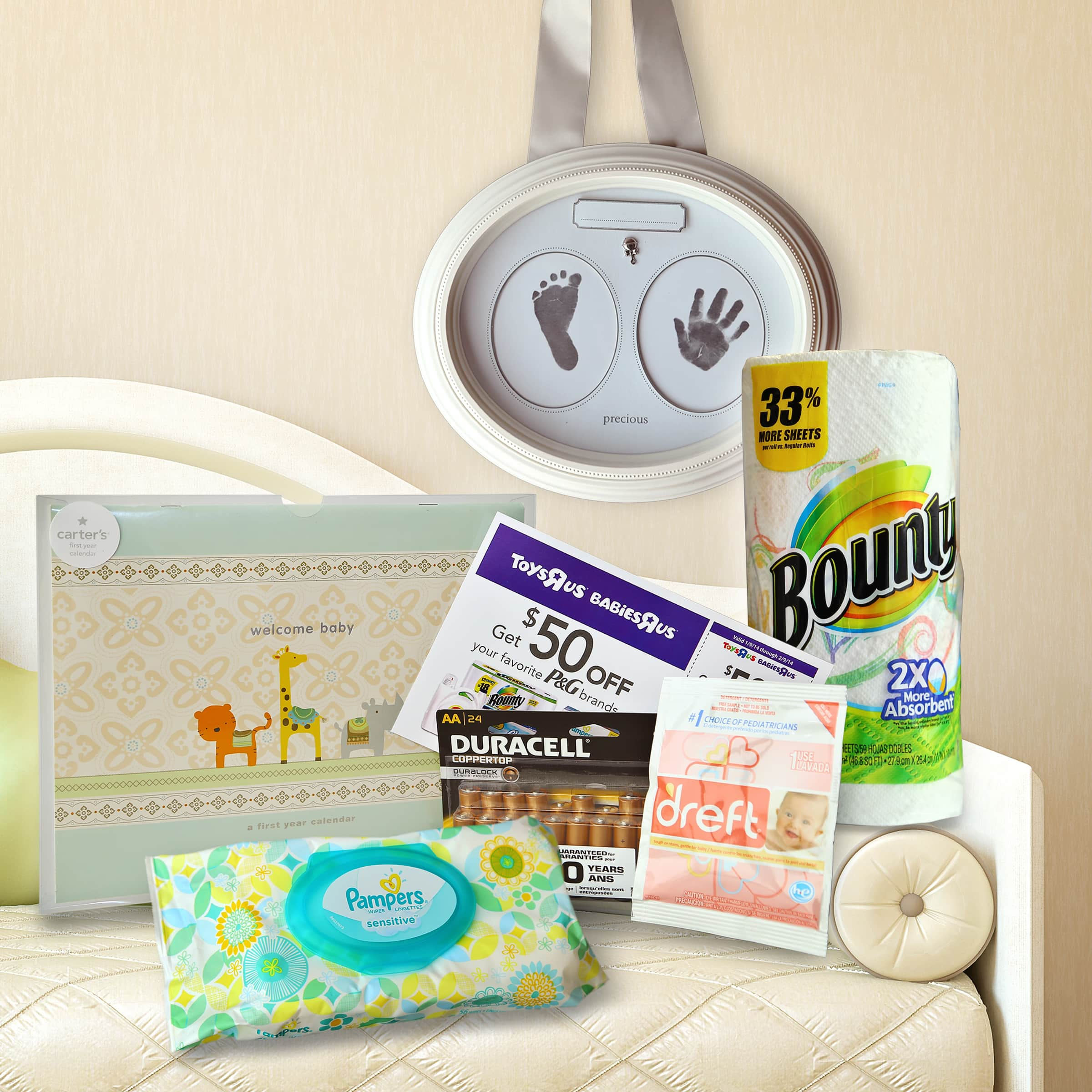 Baby Milestones with Babies'R'Us and P&G