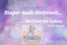 A few more uses for diaper rash ointment
