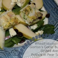 Healthy Dinner Recipes Grilled Fillet Pear Salad #RealFabulous