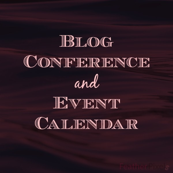 Blog Conference and Event Calendar