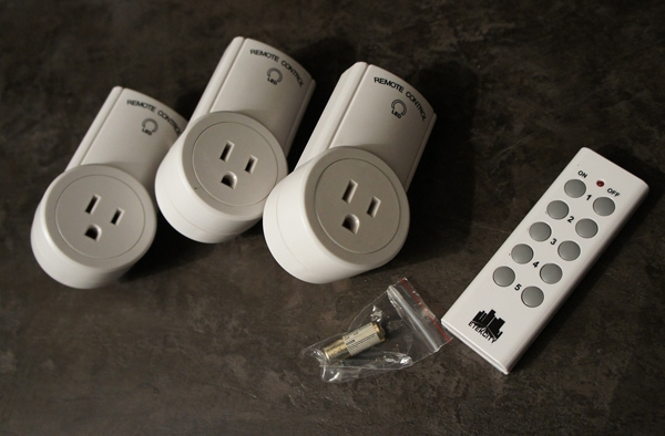 Control Lighting with Programmable Remote for Outlets