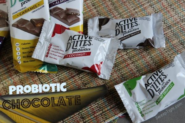 Probiotic Chocolate Active D'Lites