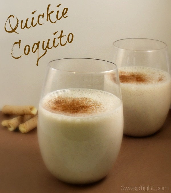 Easy Coquito Drink Recipe