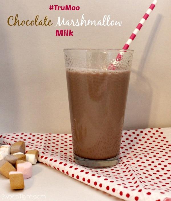 TruMoo Chocolate Marshmallow Milk #TruMoo