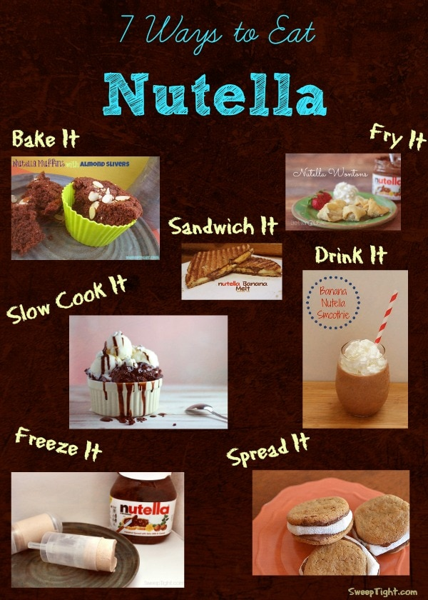 7 Ways to Eat Nutella and Recipe Roundup