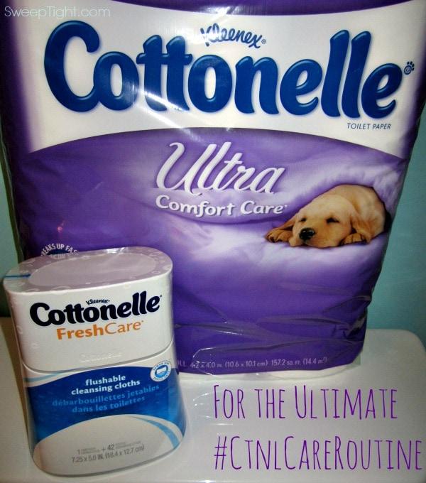 Help Prevent a UTI with Cottonelle #CtnlCareRoutine