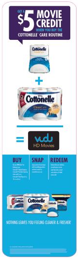Cottonelle Vudu offer
