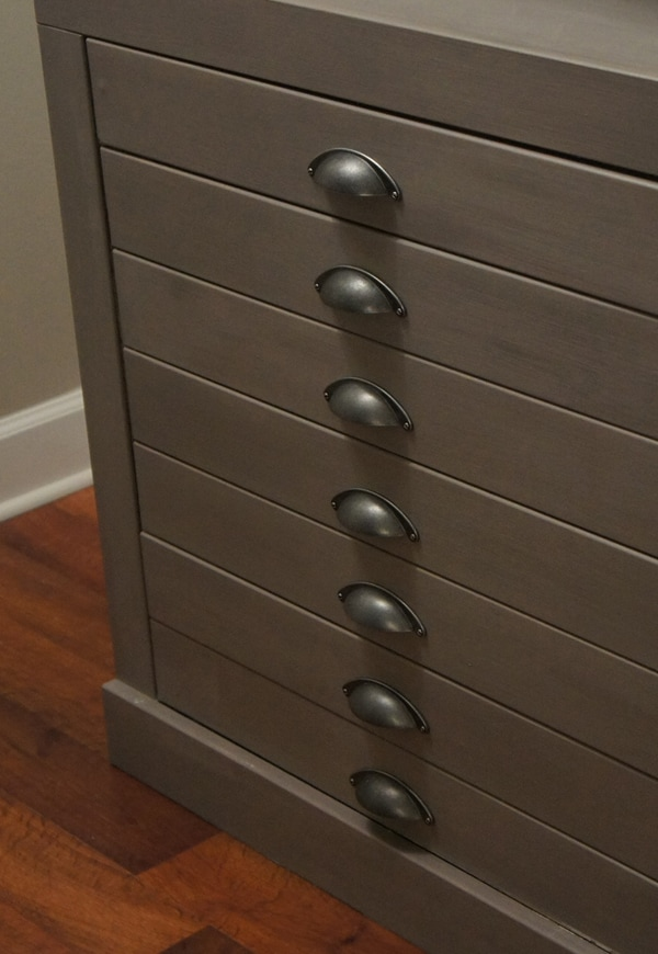 Furniture Makeover with New Hardware