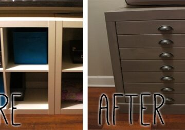 DIY Furniture Makeover with New Hardware