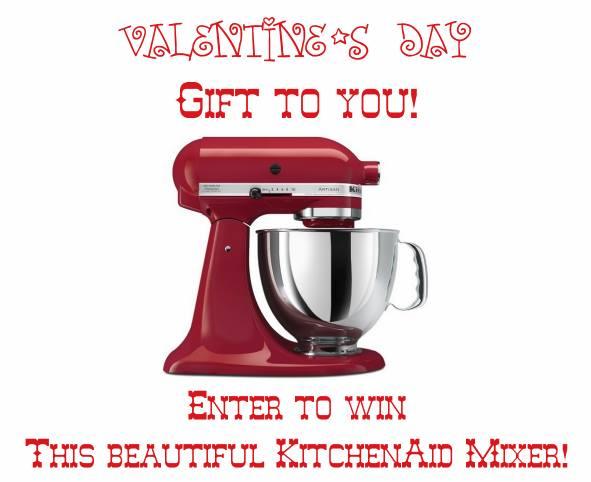 KitchenAid Valentine's Day Giveaway