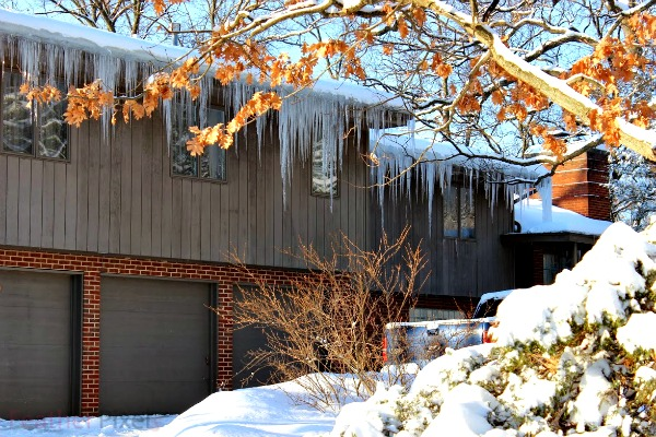 Cool Icicles of the Polar Vortex