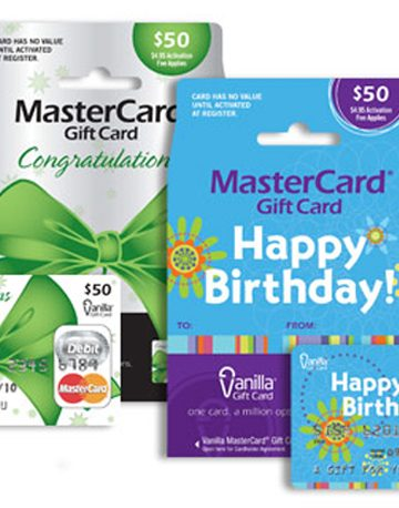 Vanilla Gift Cards Make a Perfect Gift for Anyone