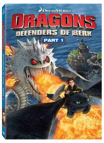 Dragons Defenders of Berk Part 1 DVD