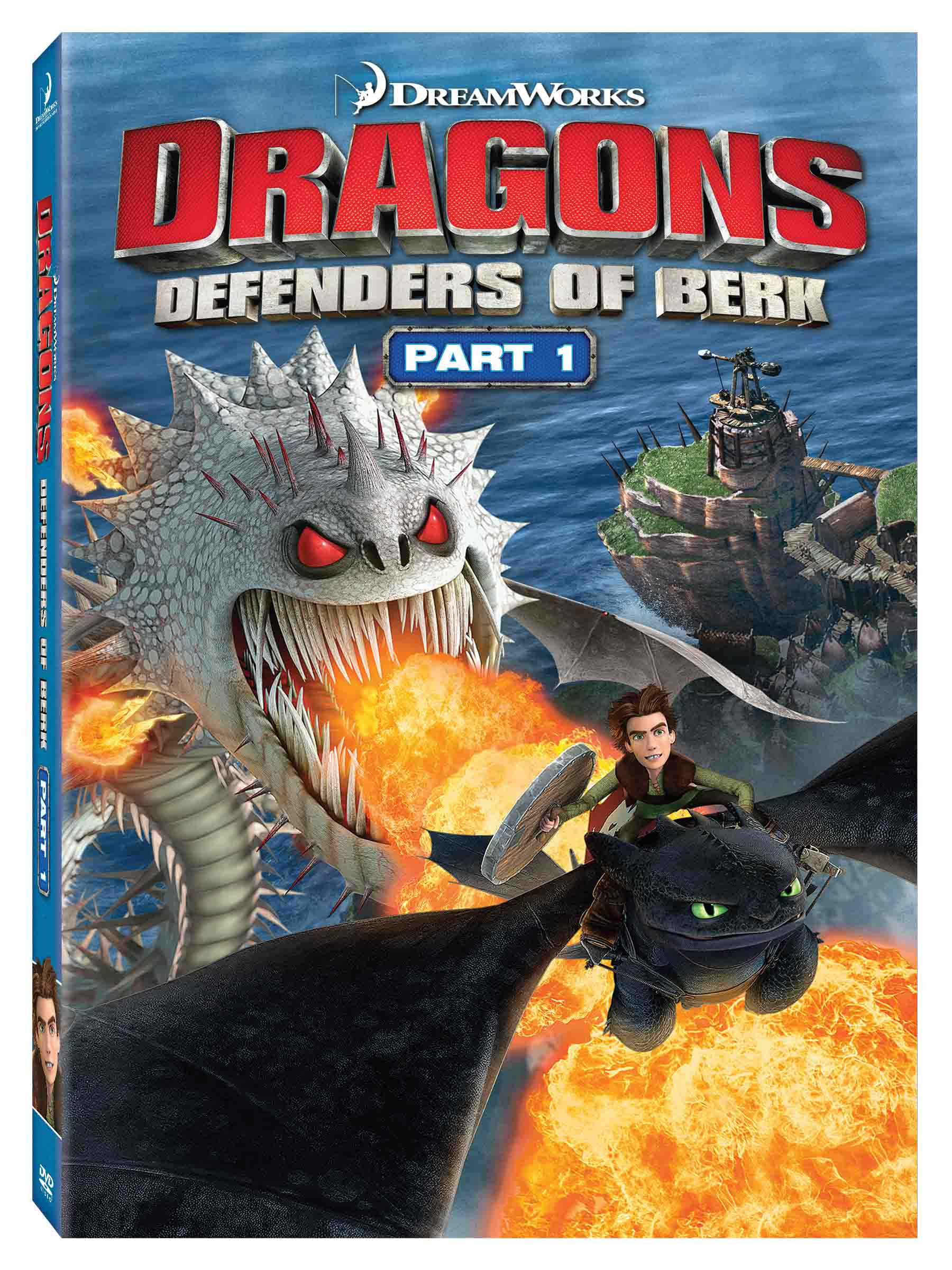 Dragons Defenders of Berk Part 1 DVD