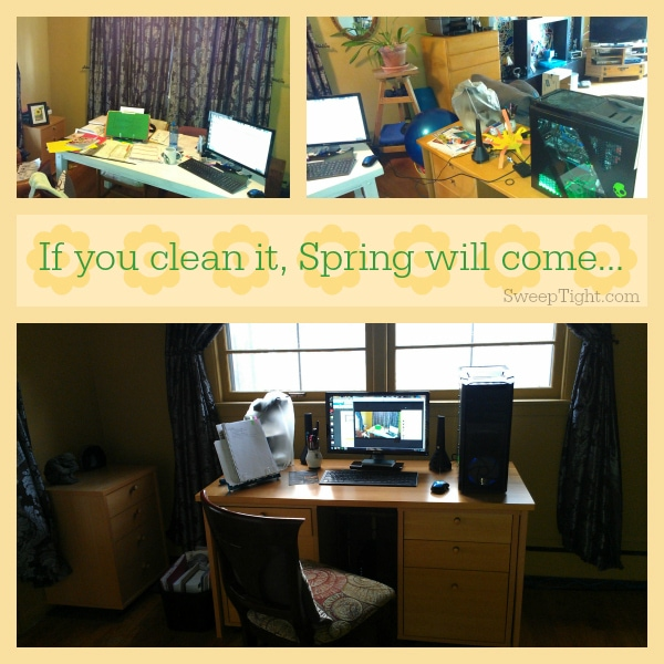 Reward yourself after Spring Cleaning
