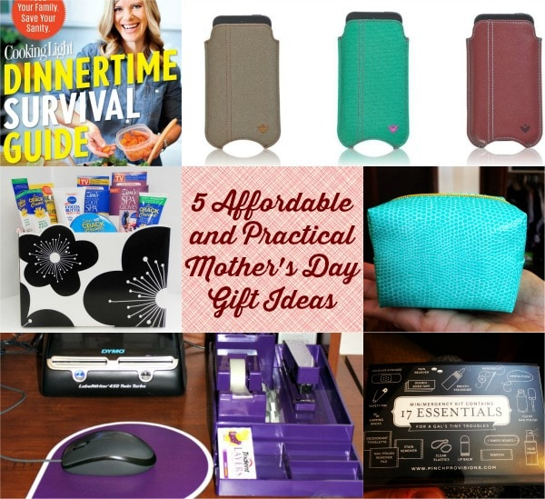 5 Affordable and Practical Mother's Day Gift Ideas
