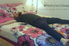 Comfort beyond your wildest dreams #NaturesSleep #sponsored