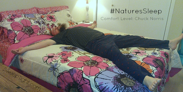 Comfort beyond your wildest dreams #NaturesSleep #sponsored