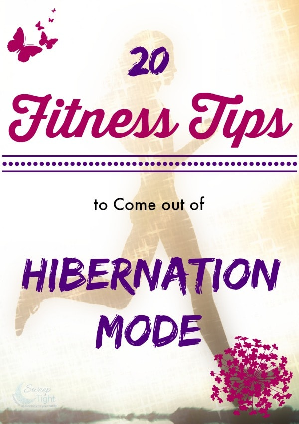 20 Fitness Tips to Come out of Hibernation Mode #HMSpring