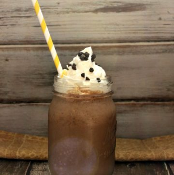 Nutella Coffee Frappuccino Recipe